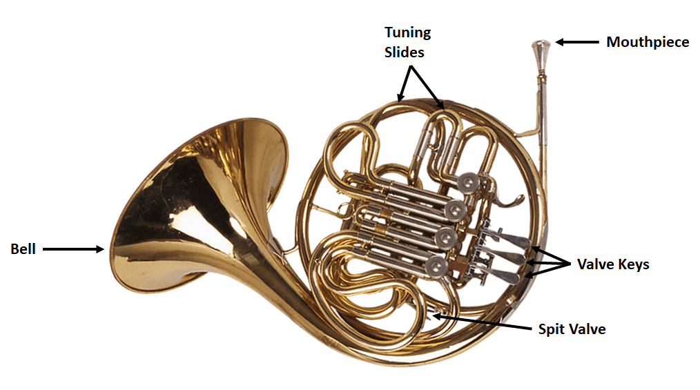 frenchhornlabeled under the home online homeschool curriculum music lesson
